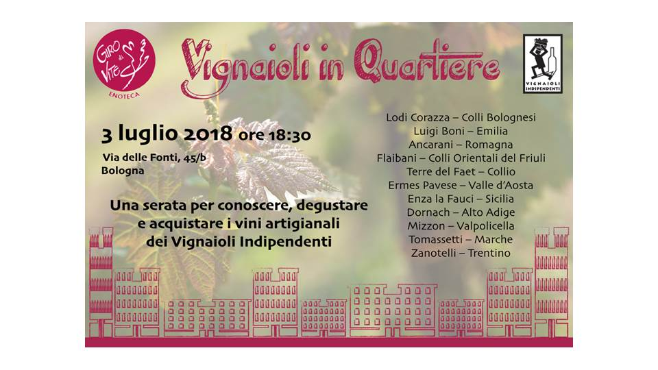 vignaioli in quartiere 2018